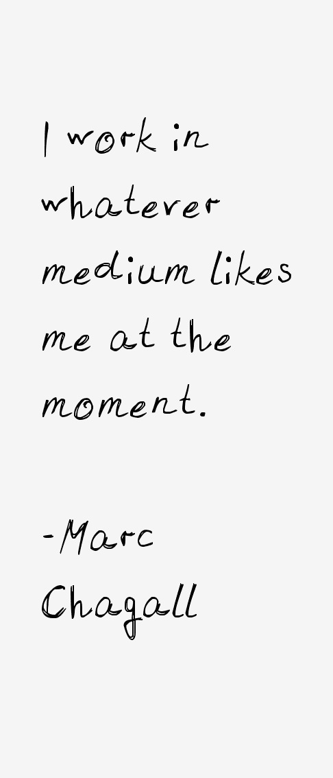 Marc Chagall Quotes