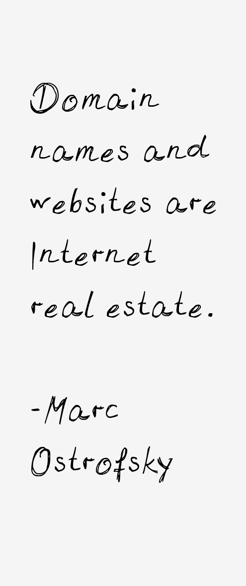 Marc Ostrofsky Quotes