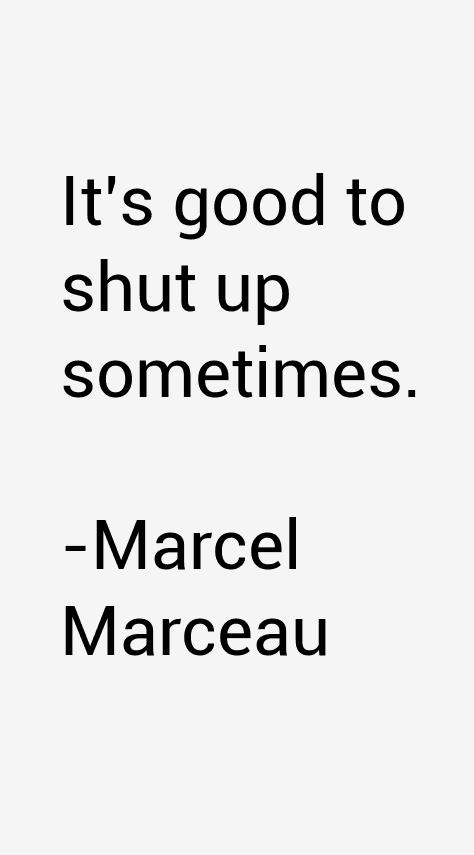 Marcel Marceau Quotes