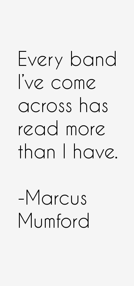 Marcus Mumford Quotes