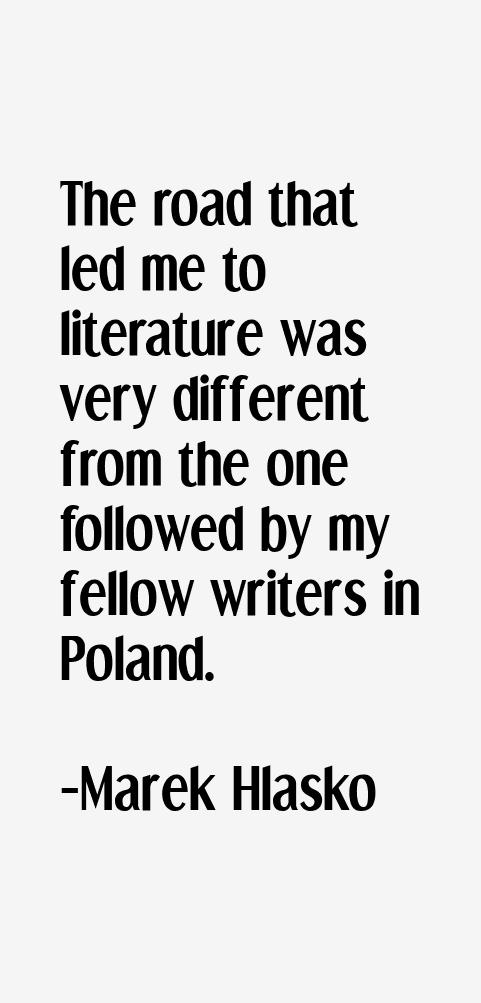 Marek Hlasko Quotes