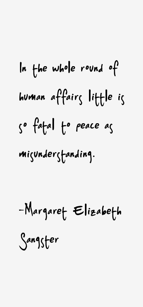 Margaret Elizabeth Sangster Quotes
