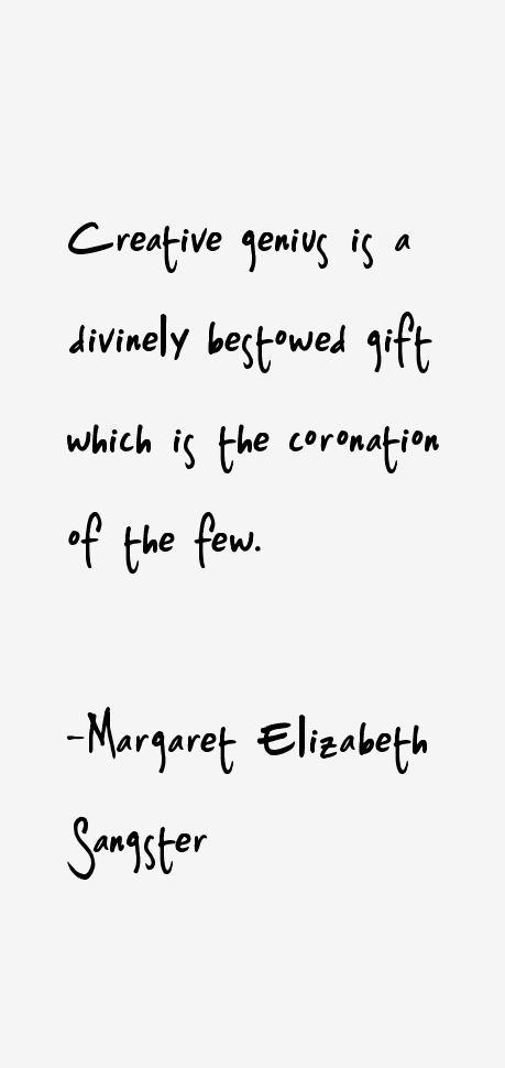 Margaret Elizabeth Sangster Quotes
