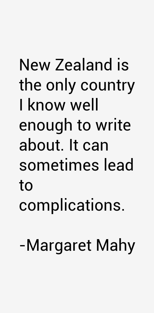 Margaret Mahy Quotes