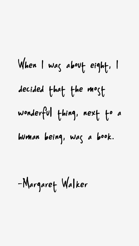 Margaret Walker Quotes