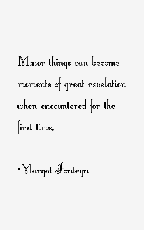 Margot Fonteyn Quotes