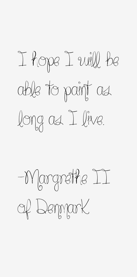 Margrethe II of Denmark Quotes