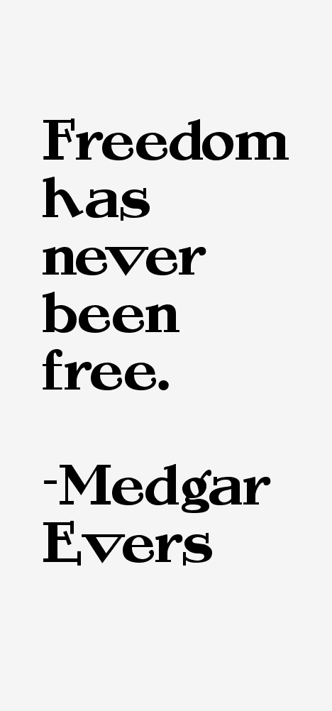 medgar evers quotes amp sayings