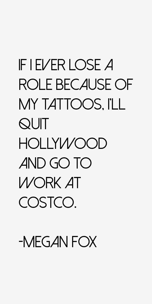 Megan Fox Quotes