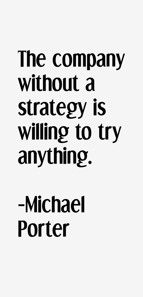 what is strategy by michael porter pdf