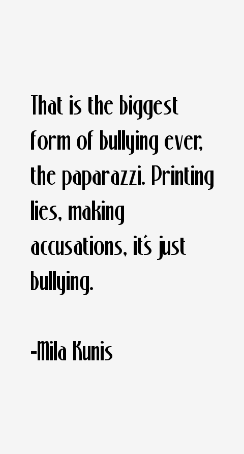 Mila Kunis Quotes
