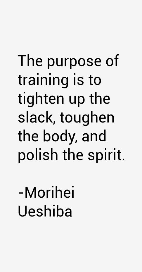 Morihei Ueshiba Quotes Amp Sayings