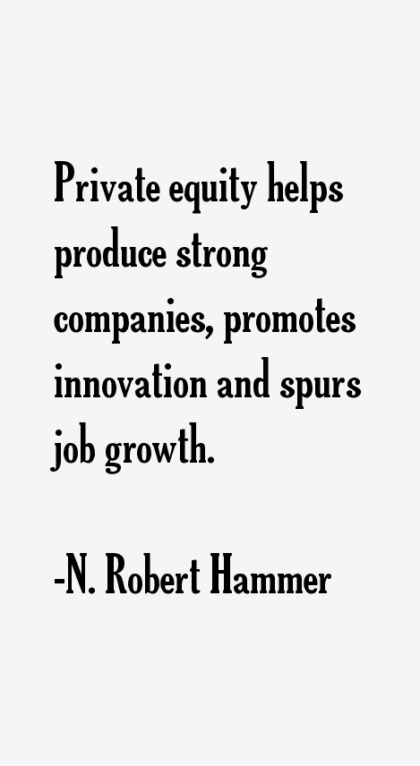 N. Robert Hammer Quotes
