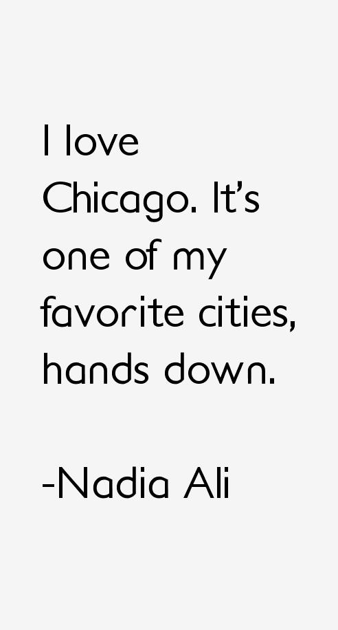 Nadia Ali Quotes