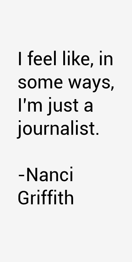 Nanci Griffith Quotes