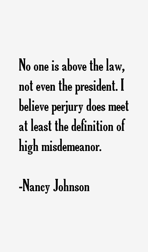 Nancy Johnson Quotes