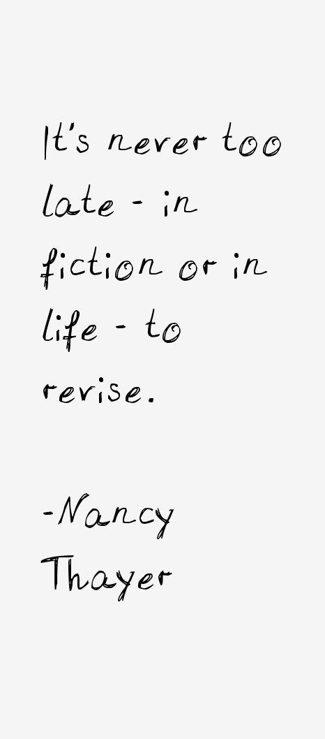 Nancy Thayer Quotes