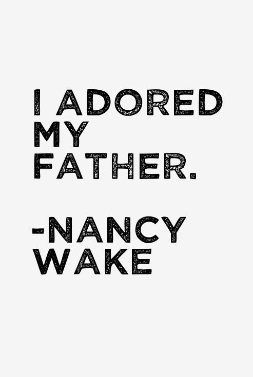Nancy Wake Quotes