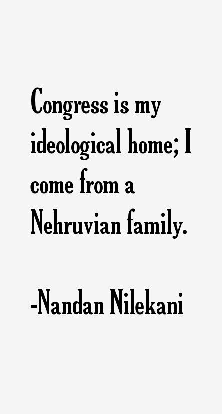 Nandan Nilekani Quotes