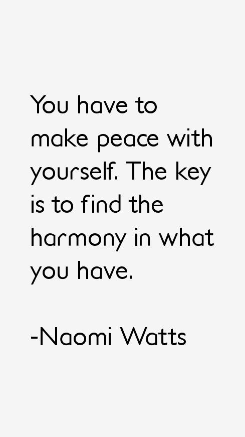 Naomi Watts Quotes
