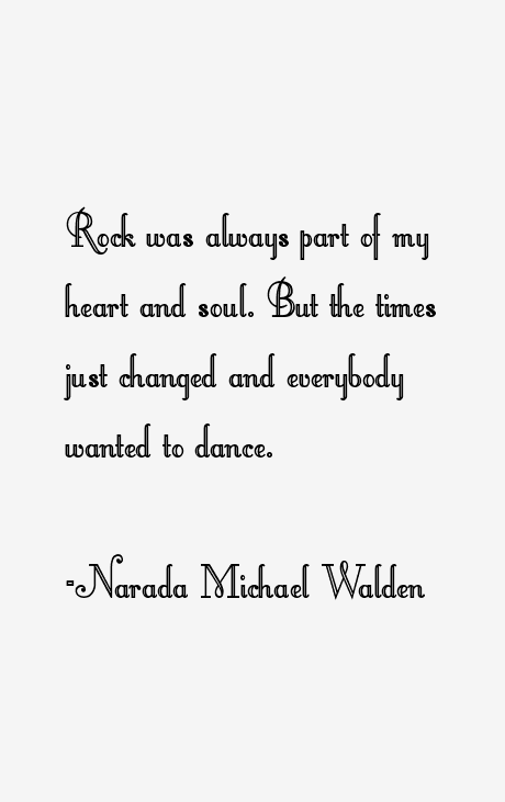 Narada Michael Walden Quotes