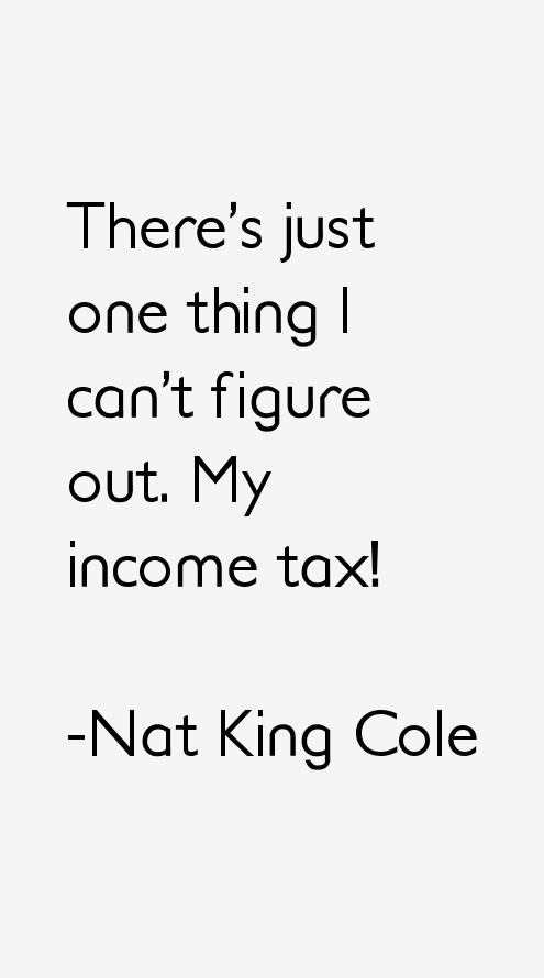 Nat King Cole Quotes