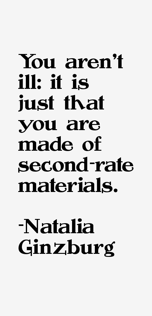 Natalia Ginzburg Quotes