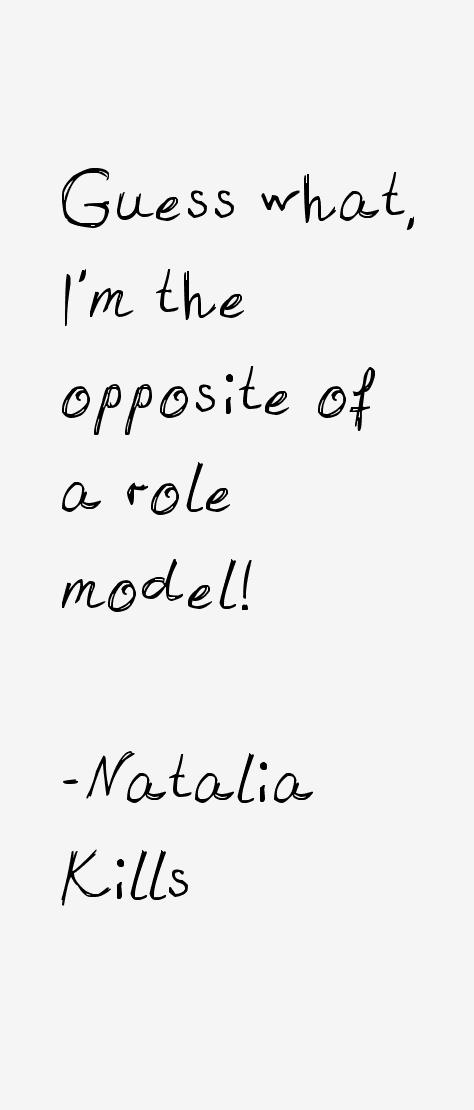 Natalia Kills Quotes