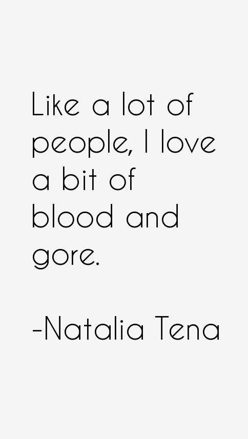 Natalia Tena Quotes