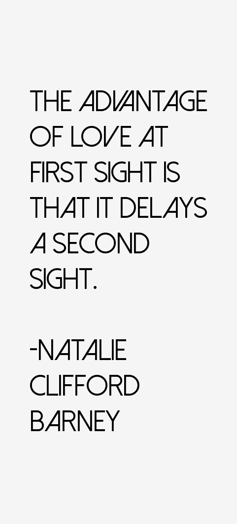 Natalie Clifford Barney Quotes
