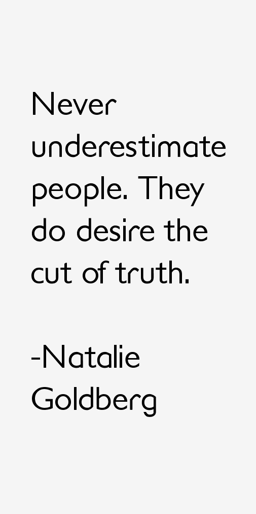 Natalie Goldberg Quotes