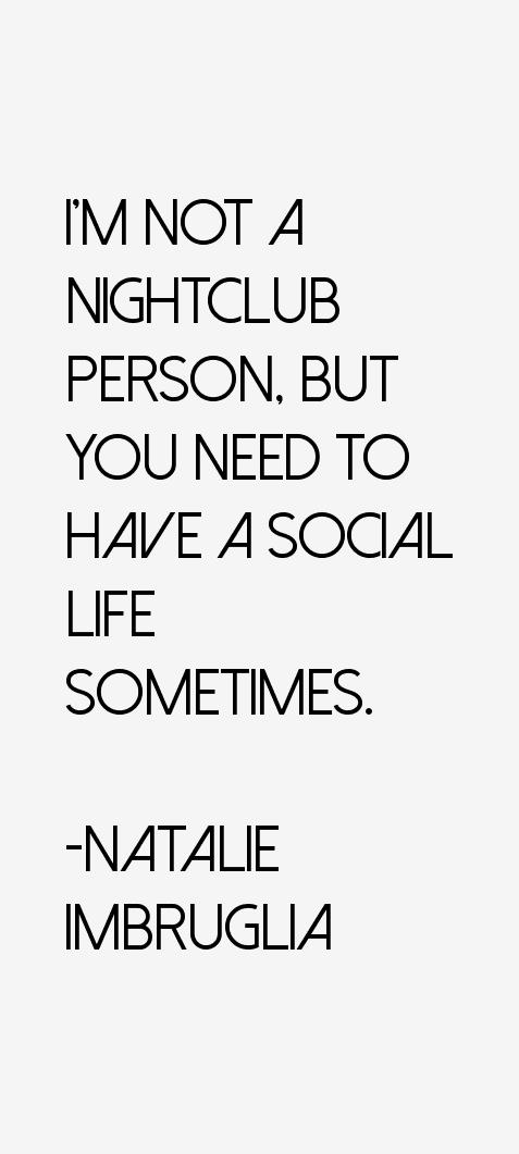 Natalie Imbruglia Quotes
