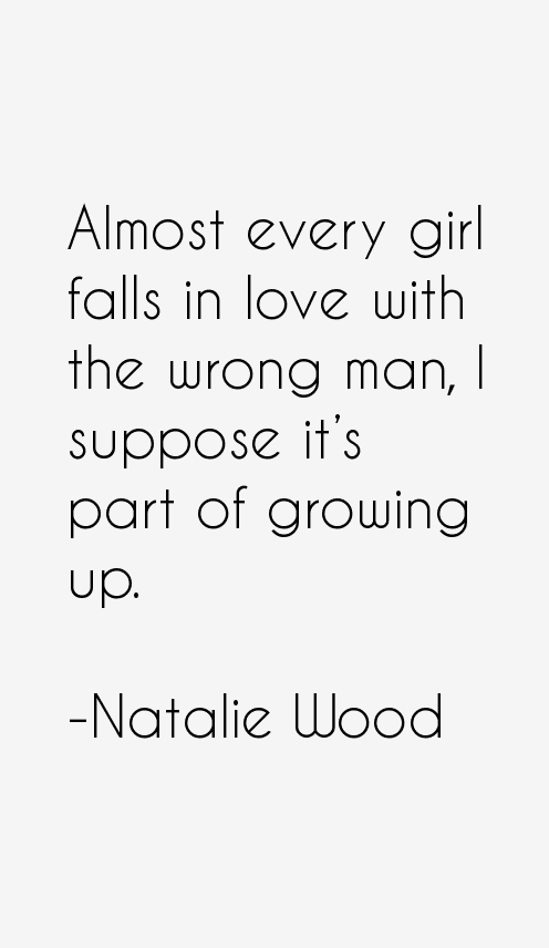 Natalie Wood Quotes