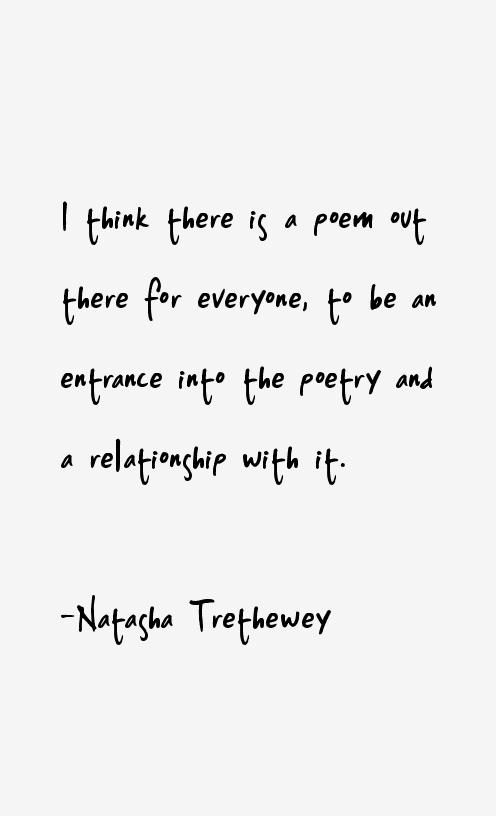 Natasha Trethewey Quotes
