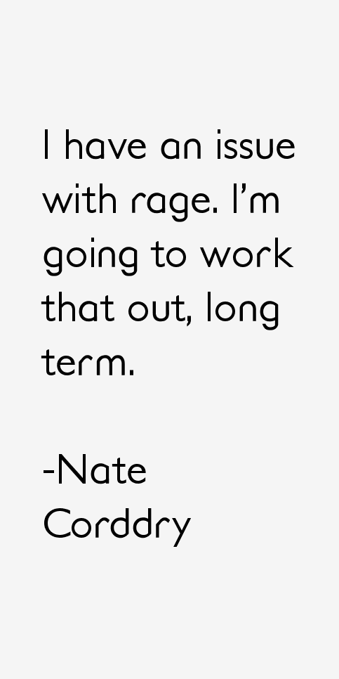 Nate Corddry Quotes
