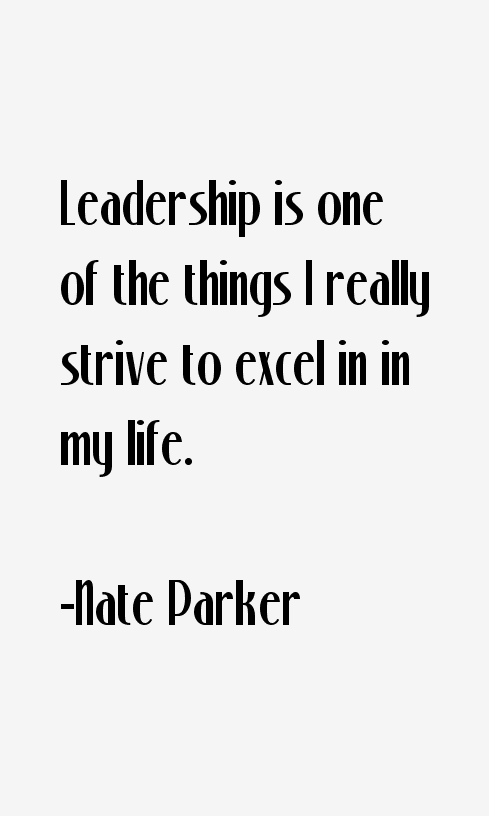 Nate Parker Quotes