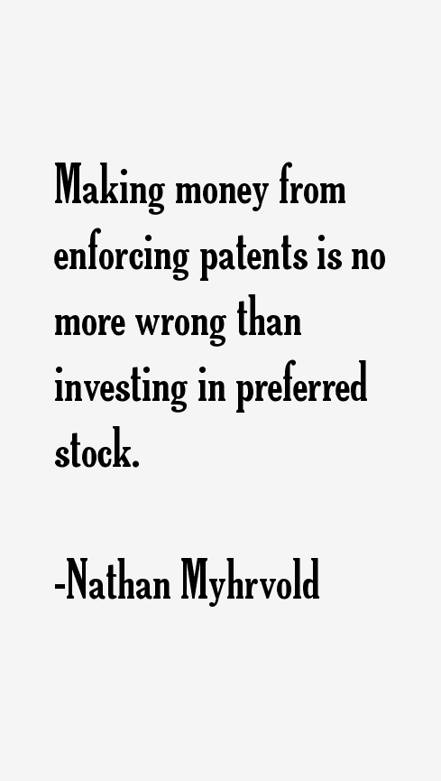 Nathan Myhrvold Quotes