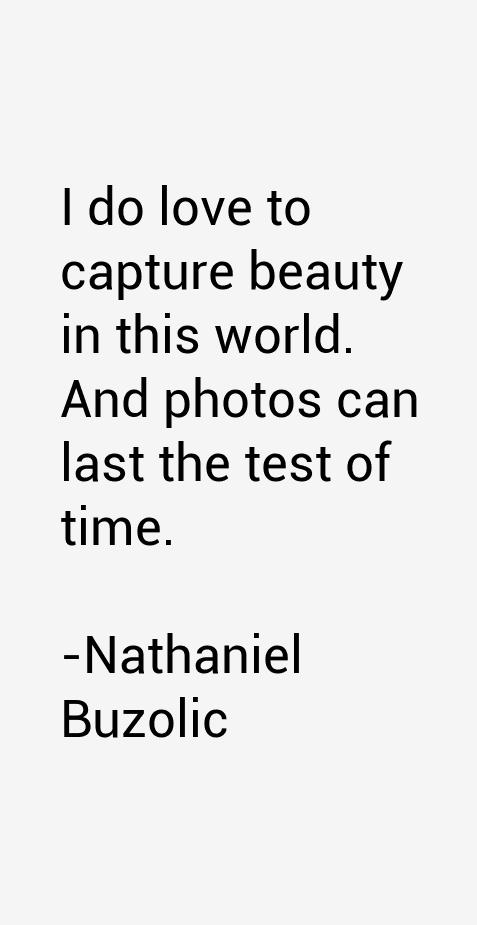 Nathaniel Buzolic Quotes