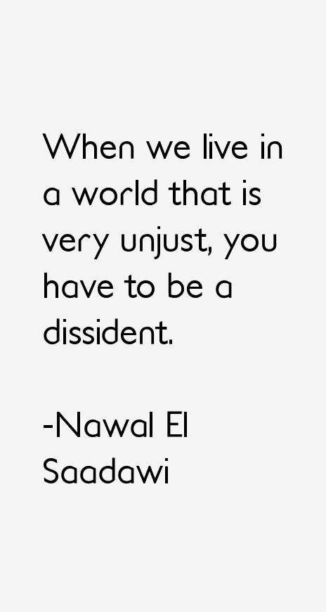 Nawal El Saadawi Quotes