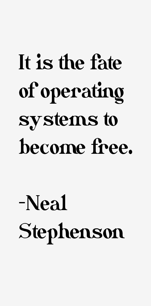 Neal Stephenson Quotes