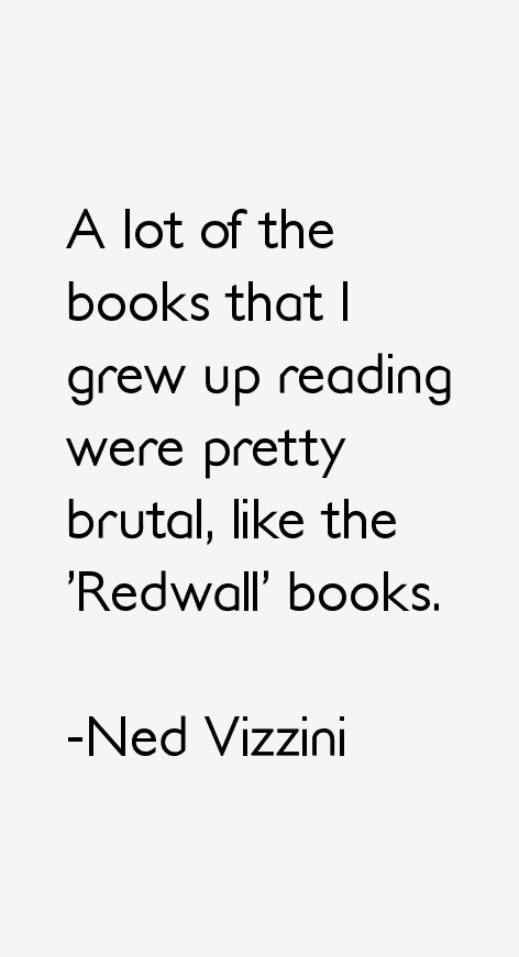 Ned Vizzini Quotes