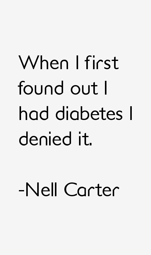 Nell Carter Quotes