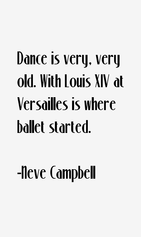 Neve Campbell Quotes