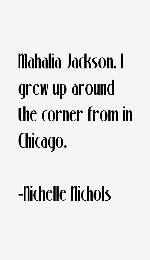 Nichelle Nichols Quotes