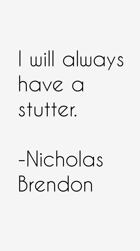 Nicholas Brendon Quotes