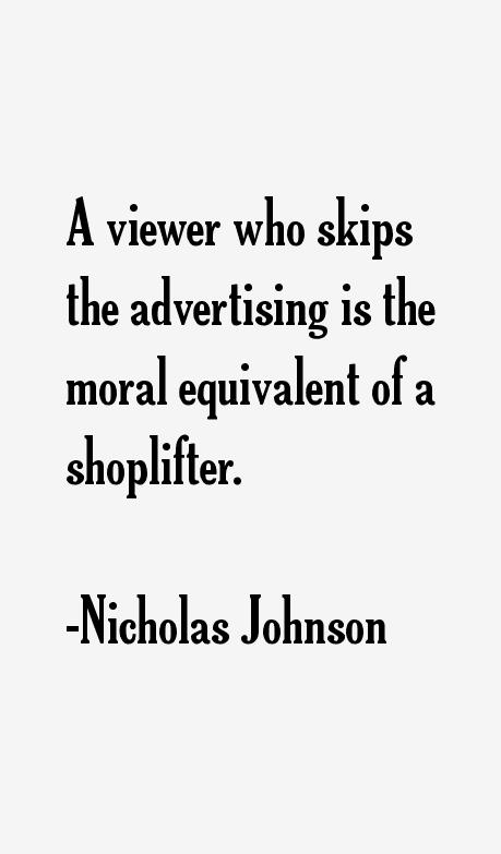 Nicholas Johnson Quotes