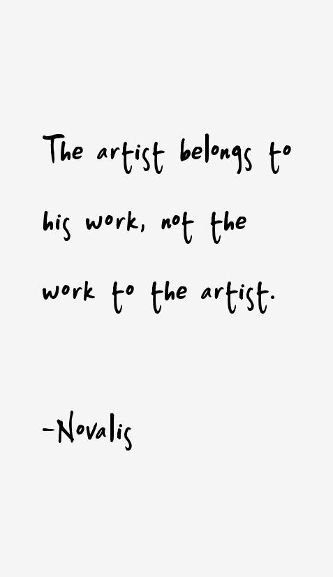 Novalis Quotes