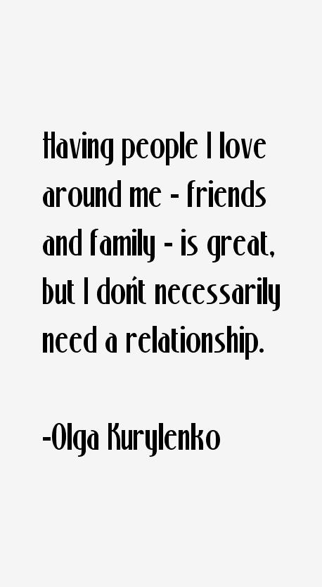 Olga Kurylenko Quotes