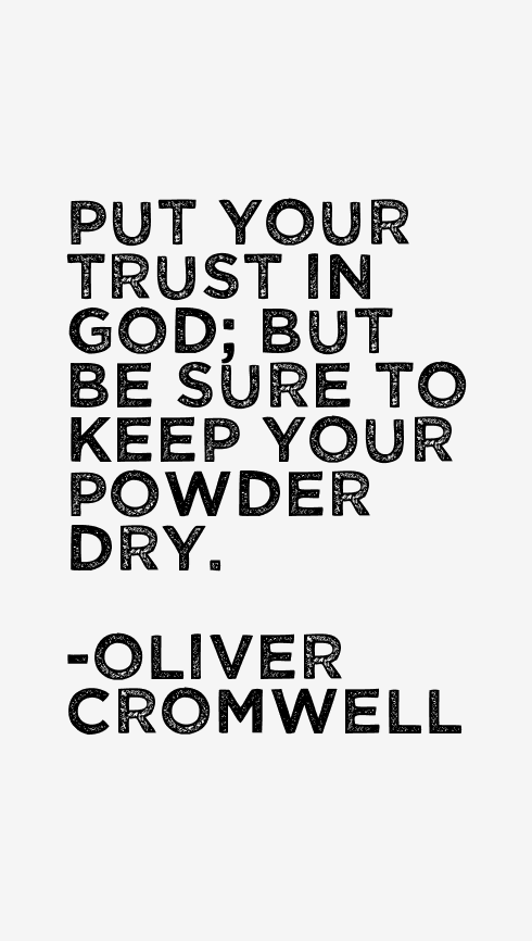 Oliver Cromwell Quotes