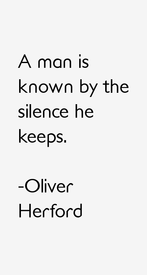 Oliver Herford Quotes